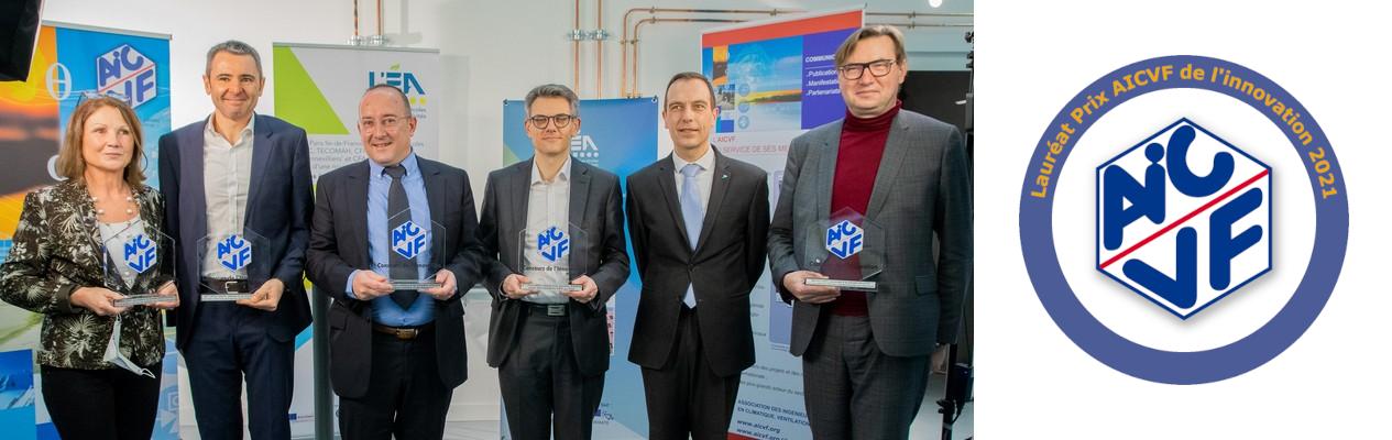 Remise des prix Concours de l'innovation AICVF 2021