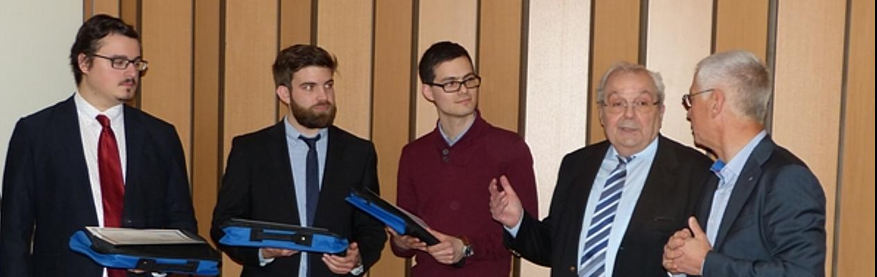 Inscription Prix jeune ingénieur - Roger CADIERGUES - 2018