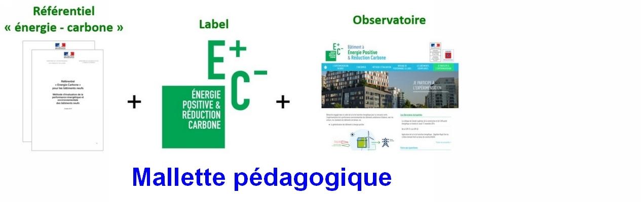 Mallette pédagogique référentiel E+/C-