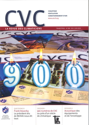 CVC 900 couverture