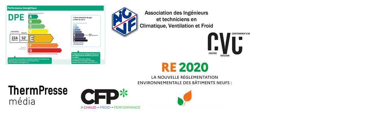 Conférence webinaire AICVF : DPE & RE2020