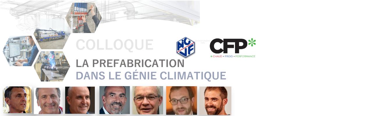 Colloque - La préfabrication dans le génie climatique