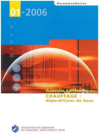Recommandation 01-2006 - Déperditions de base