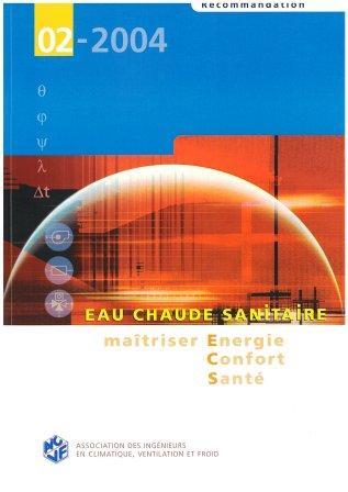 Recommandation 02-2004 - Eau chaude sanitaire