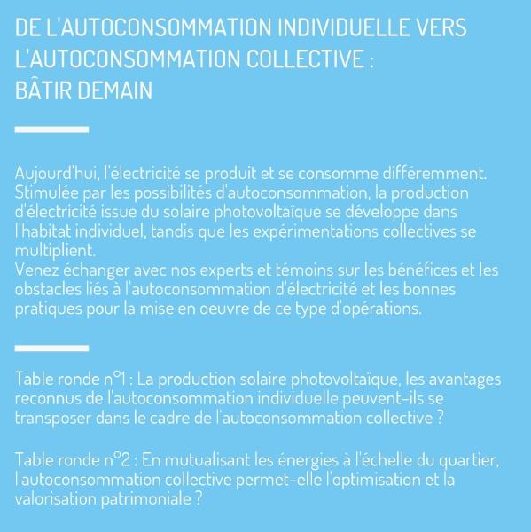 Autoconsommation électrique