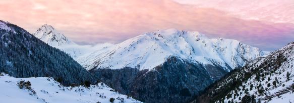 Pyrénées – Pic du midi – Couché de soleil