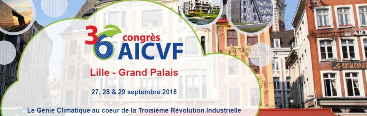 36ème Congrès de l'AICVF - Lille Grand Palais