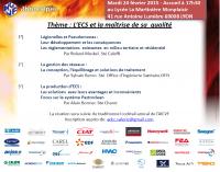 02/2015 R13 L'ECS et la maitrise de sa qualité