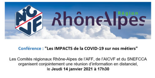 Conférence : ''Les impacts de la Covid-19 sur nos métiers''